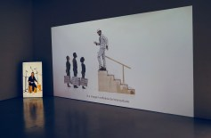 Grada Kilomba, ILLUSIONS, 2017, Installation view at Galeria Avenida da Índia, Lisbon, Photo by José Frade