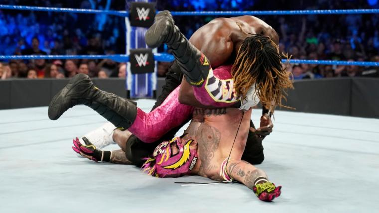 R-Truth pins Rey Mysterio
