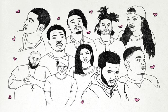 BLARE's Hip-Hop Valentine's Day Cards