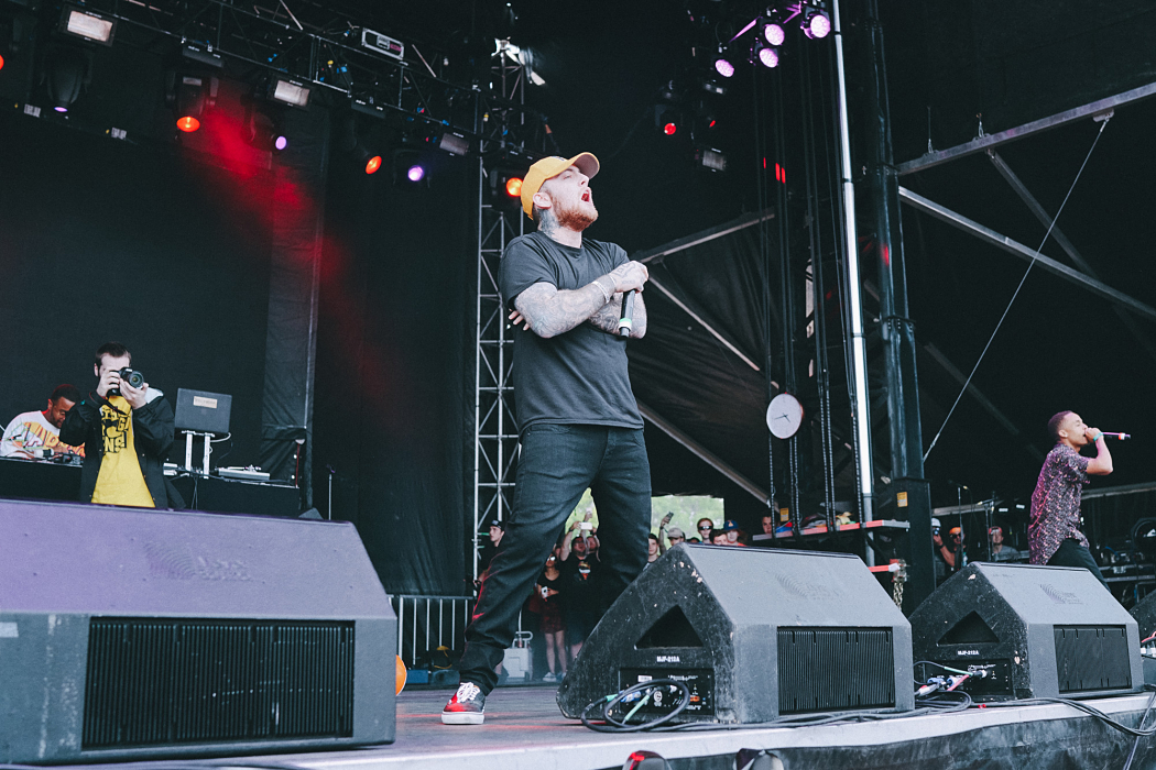 Mac Miller at Governors Ball-2