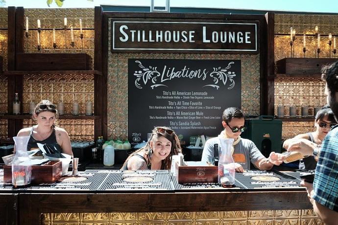 Tito's Vodka Stillhouse Lounge