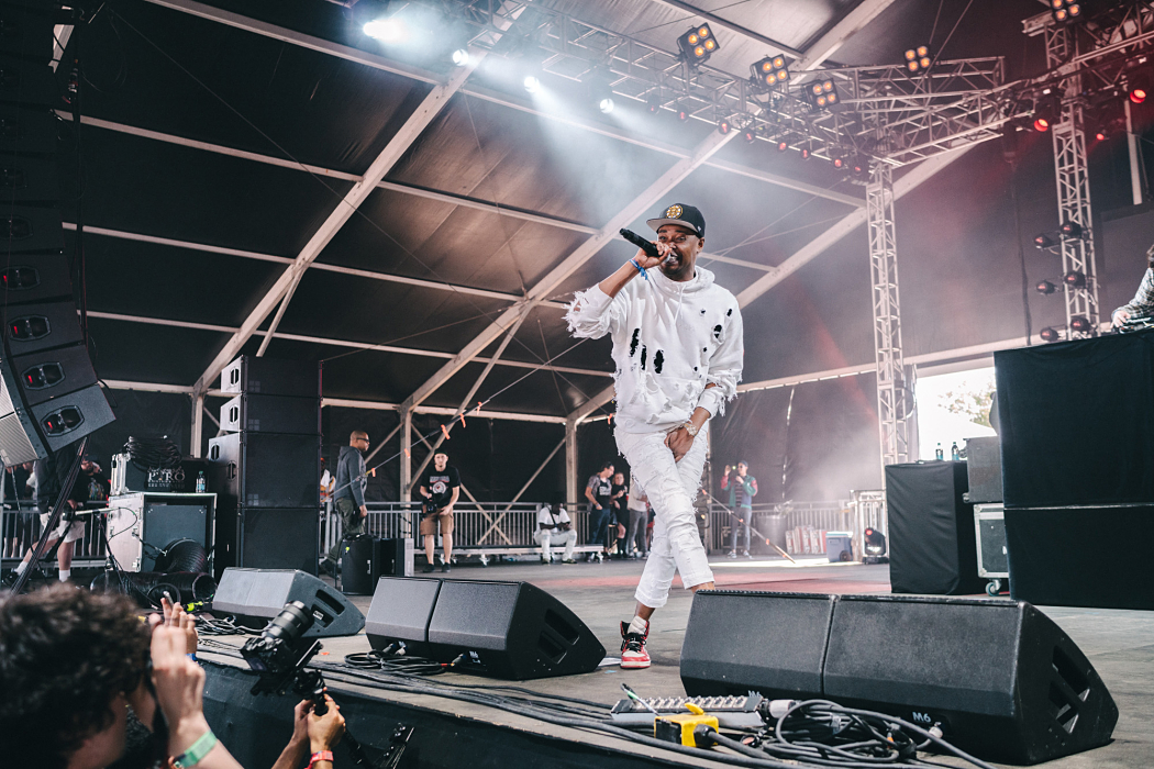Danny Brown - Governors Ball 2017-2