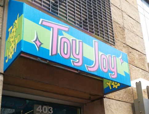 Paid a visit to Toy Joy for one last time before it closed - Photo by Blas Garcia