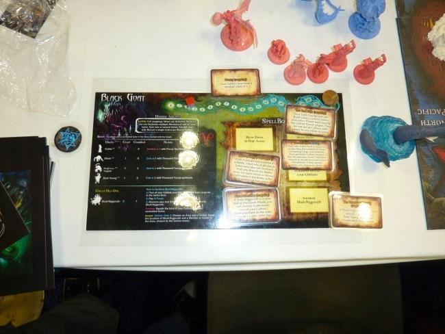 Each faction has their own play chart.