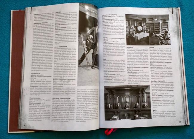 Another Investigator Handbook spread.