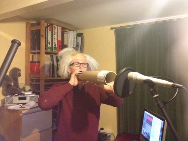 Paul making strange noises