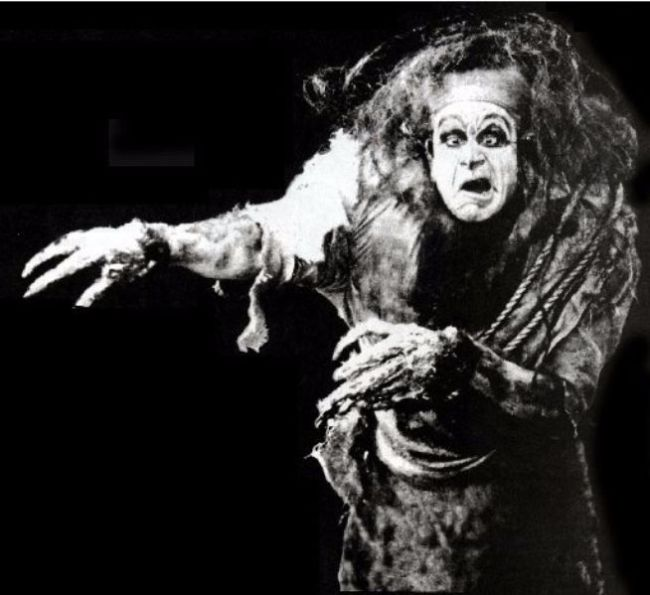 Charles Ogle as Frankenstein's monster