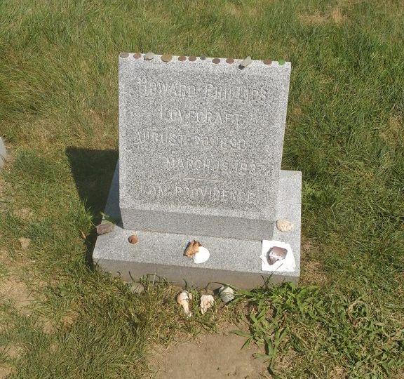 Lovecraft's grave