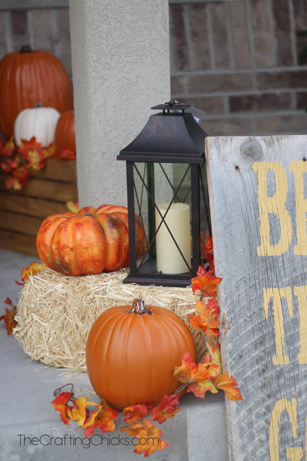 30 Diy Fall Porch Decorating Ideas For The Prettiest