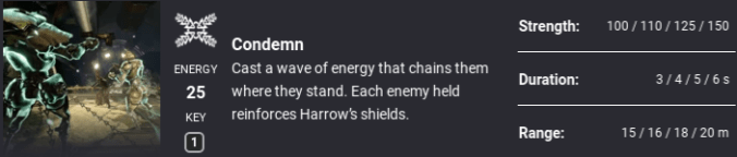 Warframe Beginner's Guide – How to Master Harrow in 'Chains
