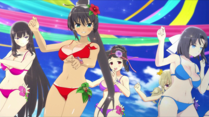 SENRAN KAGURA Peach Beach Splash - Screenshot05