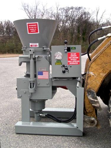 H-020 Gunite Machine Attachment