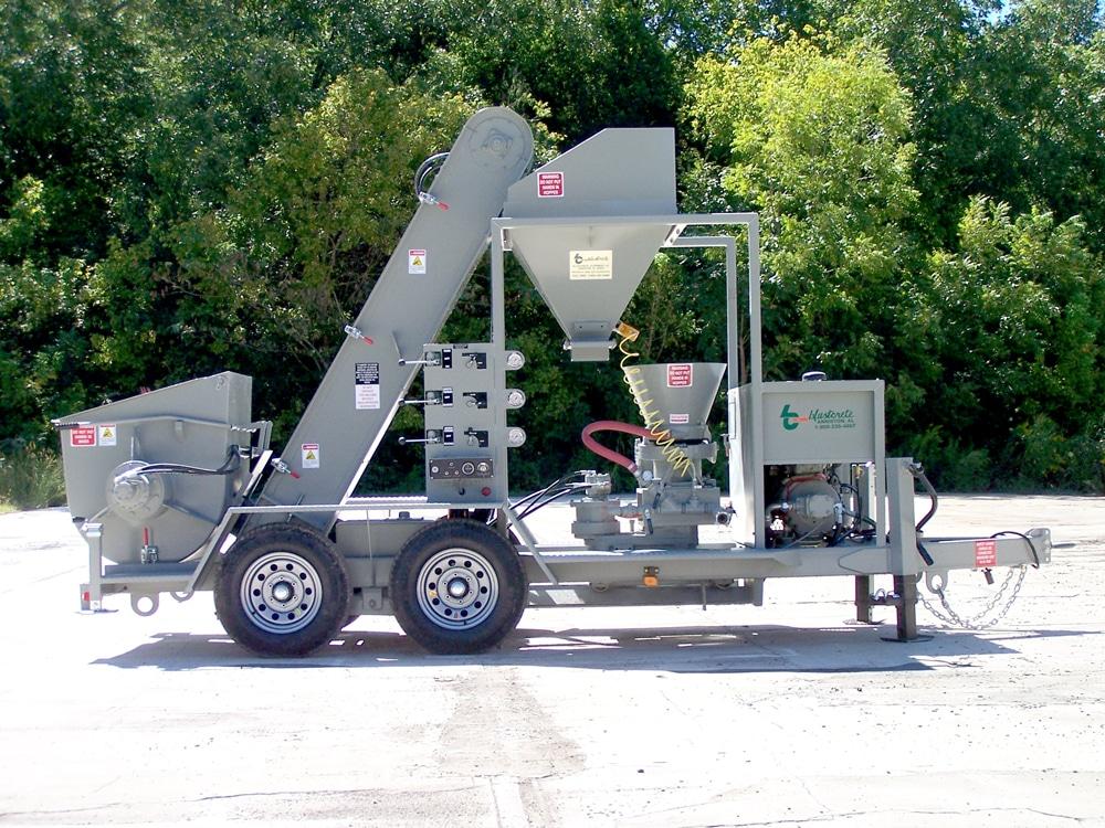 Dampcon Rig Predampener & Gunning Unit