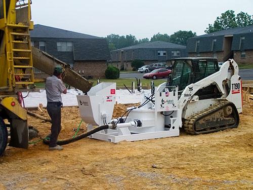 RD6536 Skid Steer Concrete Pump