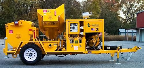 RMX-5000 Concrete Mixer Pump