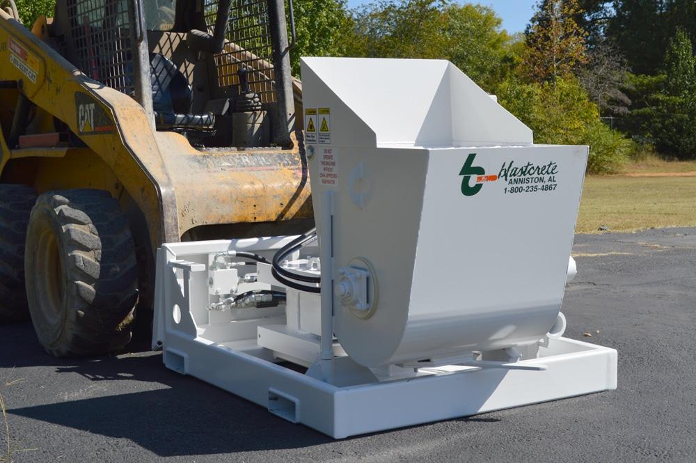 D6528 Concrete Pump on Skidsteer