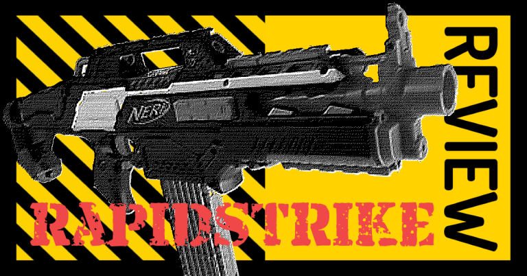 NERF N-Strike Elite RapidStrike CS-18 Review