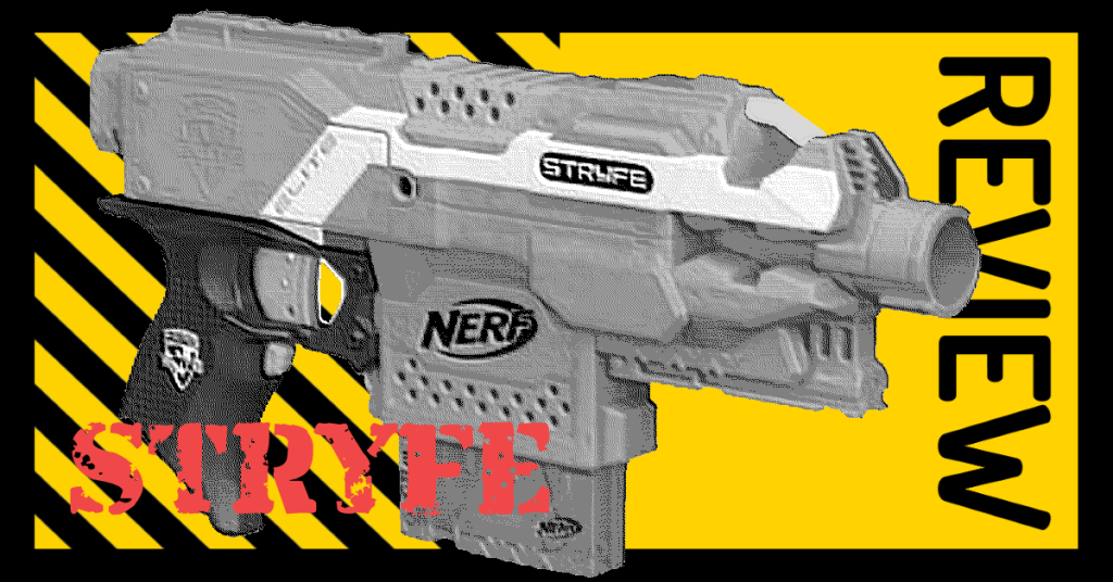 NERF Elite XD Stryfe Blaster Review