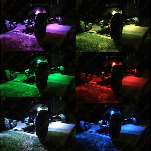 Light Led Rgb Rock