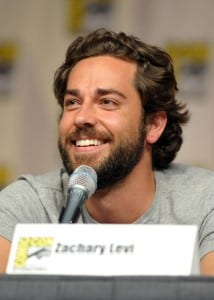 Zachary Levi speaks at TV Guide Magazine Comic-con panel (Media credit/WireImage)