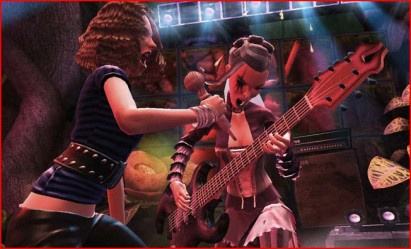 The Games Mechanics Graphics And Features Are Very Much Like A No Frills Guitar Hero World Tour With Comparable Character Customization Band Creation