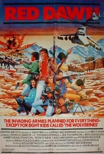 The original Red Dawn poster