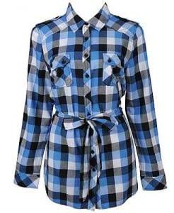 Campy Gingham Check Shirt