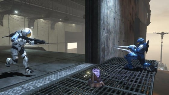 bean12 and a sword versus Ghost Faction and a Shotgun