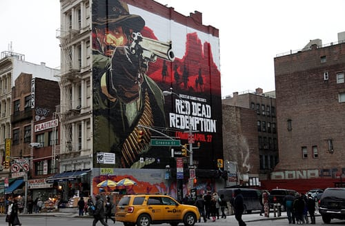 Red dead redemption invades new york city blast for Activities for couples in nyc