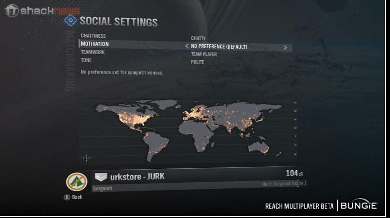 Tips Halo REACH matchmaking