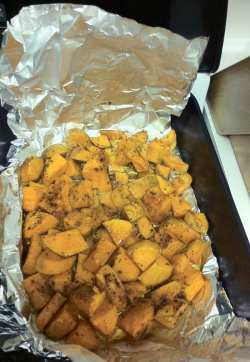 Roasted Fall sweet potatoes
