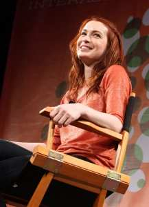 Felicia Day is a goddess -- a geek goddess (WireImage)