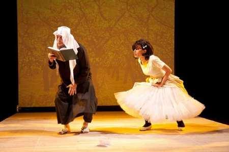 "Fayez Kazak and Nowar Yousef in ""Speaker's Progress"""