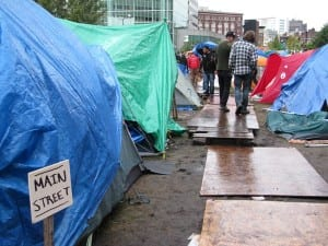 Main Street, Occupied Boston (Blast Staff photo/John Stephen Dwyer)