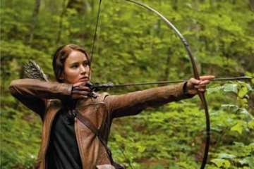 """there can be no comparison between """"The Hunger Games"""" and """"The Twilight Saga"""" because (and I want to make this abundantly clear) """"The Hunger Games"""" is actually --good."""