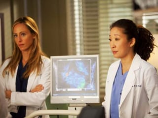 Kim Raver, left, will not return next season