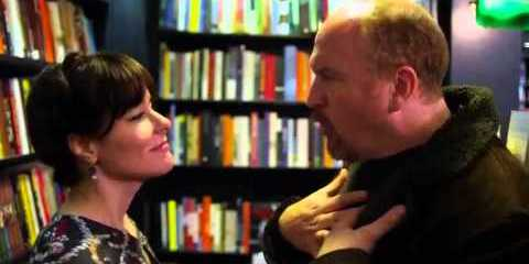 Parker Posey guest stars in the first of a two-parter as a book clerk Louie asks out.