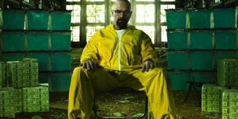 With a Hazmat suit for a throne, Walter White doesn't look all that regal, but for the first time, he's unrivaled.
