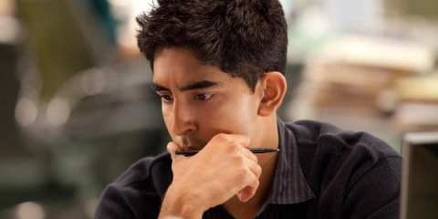 """Neal (Dev Patel) earns some more screen time on """"The Newsroom."""""""