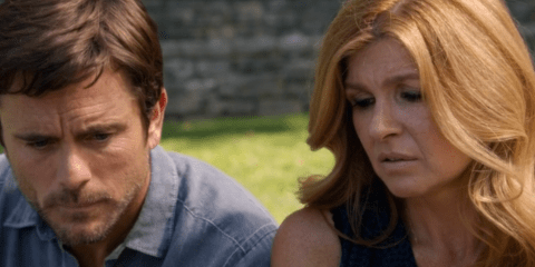 Rayna and Deacon, unable to say what they want to say.