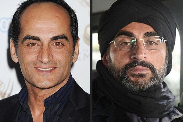 """On one side, a gentle Iranian-born acor, on the other the Al-Qaeda mastermind named Abu Nazir on """"Homeland."""""""
