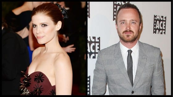 """Kate Mara (Zoe Barnes of """"House of Cards"""" and Emmy winner Aaron Paul (Jesse Pinkman of """"Breaking Bad"""") will announce Emmy nominations in the wee hours of July 18."""