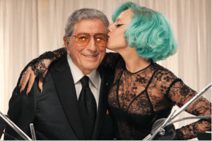 Tony Bennet and Lady Gaga. Media credit to PRNewsFoto/RPM Records/Columbia Records