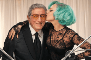 Tony Bennet and Lady Gaga. Media credit to PRNewsFoto/RPM Records/Columbia Records