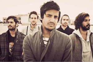 Young the Giant. Media credit to KUKQ Radio.