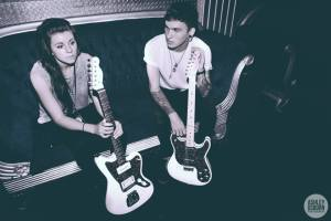 Lynn and Alex Babinski of PVRIS. Media credit to Ashley Osborn.