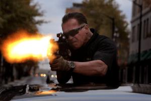 Sabotage movie with Arnold Schwarzenegger