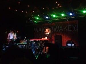 Johnson performing at Brighton Music Hall. Media credit to Jess Saade