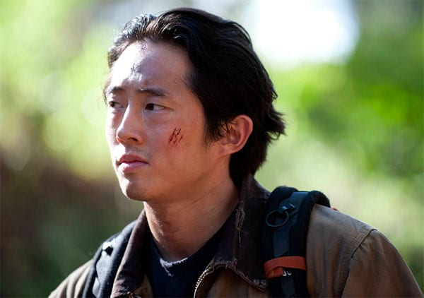 Glenn (Steven Yeun) takes center stage for part of this week's episode of The Walking Dead
