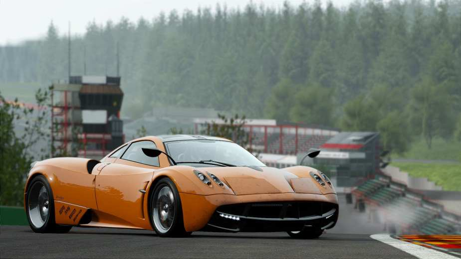 Project Cars will feature an open world realistic driving simulation with all vehicles and tracks unlocked from the beginning.